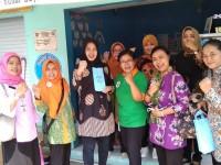 Ketua Bidan Delima Provinsi Jateng (IBI) dan Istri Walikota Tegal Sambut Baby Cafe Empat Bintang di Pandes