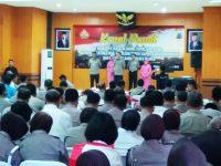 Mutasi 13 Perwira Polres Klaten, AKBP Wiyono: Wujudkan Polisi Yang Profesional, Modern dan Terpercaya