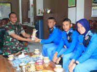 Audiensi Siswa SMA Taruna Nusantara Dengan Dandim Klaten