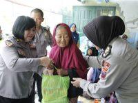 60 Paket Sembako Dibagikan Di Jum'at Berkah Polres Klaten