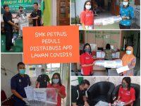 SMK Petrus Kanisius Buat APD Sendiri, Bantu Tenaga Medis Dalam Penanganan Covid-19