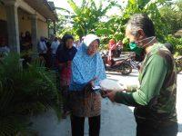 SANEK Santuni Warga Tak Mampu di Desa Kemiri