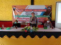 Antisipasi Konflik Sosial Pelajar, Sat Binmas Polres Klaten Gelar FGD