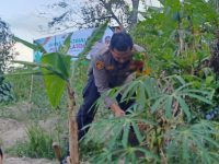 Bakti Sosial Ke-2, Jajaran Polres Klaten Bantu Warga Giripasang Kemalang