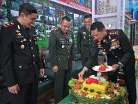 Kejutan Untuk Kodim, Di HUT TNI ke 75 oleh Polres Klaten