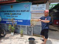 CSR PT Aqua Lakukan Monitoring Program Budidaya Ikan Untuk Keluarga ICKK