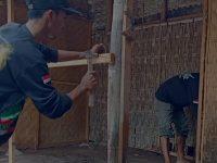 Sanek Peduli, Renovasi Tempat Yang Ditinggali Mbah Warsi