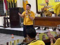 Henry Indraguna Diangkat sebagai Plt Ketua LKI Partai Golkar