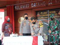 Resmikan Grhayandu, Kapolda Jateng: Semoga Jadi Terobosan Pelayanan Terpadu Polres Klaten