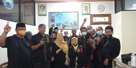 Mohon Doa Restu, DPD Partai Ummat Klaten Silaturahmi Ke PDM Klaten