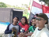 Usai Berprestasi 105 Hari Keliling Indonesia, Pertiwi Nusantara Ronny Ikuti Gatnas Pendaki Indonesia di Bandung