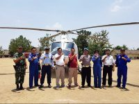 Pesawat Helikopter POLRI Jadi Armada Gubernur Hadiri Ya Qowiyyu