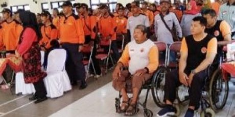 Senkom Mitra Polri dan 550 Relawan, Bertemu Di Menden, Kebonarum