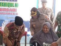 Kelompok Difabel Fastabiqul Khoirot Desa Tempursari Dapat Santunan Dari Polres Klaten