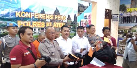 Posting Hasil Curian, 2 Tersangka di Ringkus Satreskrim Polres Klaten