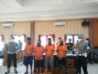 Satreskrim Polres Klaten Ringkus 4 Pencuri Sapi di Dompyongan