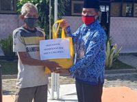 Peringati HARDIKNAS Saat Pandemi, SMPN 1 Ngawen Bagikan Sembako