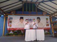Deklarasikan Pencalonan, One- Fajri Siap Melawan Incumbent