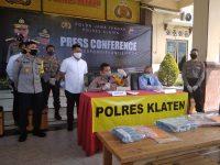 Baru Seminggu Menjabat, Kapolres Klaten Ungkap Pembuatan Uang Palsu di Jatinom