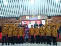 Pelantikan Pengurus FKDM, Sri Mulyani: FKDM Harus Ambil Peran Menjaga Kondusifitas Warga Hingga Pilkada