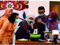 PLN UP3 Klaten Demo Masak Dengan Kompor Induksi di Ultah Darma Wanita Persatuan