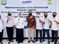 PLN UP3 Klaten dan Surakarta Lakukan MoU Kerjasama Dengan Kejaksaan Negeri Boyolali